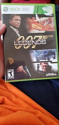 007 Legends (Xbox 360) COMPLETE Tested FAST SHIPPING James Bond