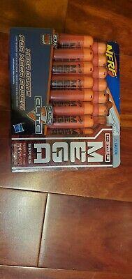 Brand New! Nerf N-Strike MEGA Dart Ammo Refill Pack 20