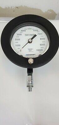 Ashcroft Test Gauge 10000 Psi Monel K500 6 Dia 4.5 Face 50psi Subd -enerpac