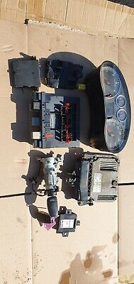 Audi A3 2006 1.9 TDI ignition barrel key transponder engine ecu set
