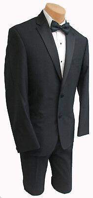 New Boys Size Black Joseph Abboud Maybach Tuxedo Jacket Soft Wool Kids Blazer - Kids Tuxedo