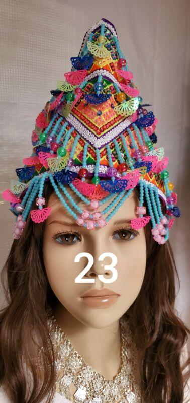Brand New Beautiful  Hmong sturdy Princess Hats