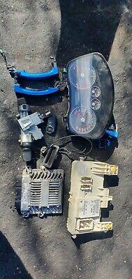 Ford Focus Titanium TDCI 2.0 diesel ignition barrel key transponder engine ECU
