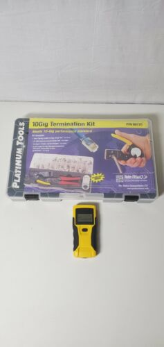Platinum Tools 90170 10Gig Termination Kit w/ Lan Scout, Missing Cable Stripper
