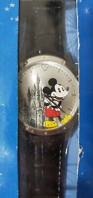 Walt Disney World Limited Release Watch Mickey Mouse Castle Brand New In Box