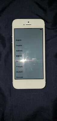 Apple iPhone 5 - 16GB - White & Silver (Sprint) A1429 (CDMA + GSM)