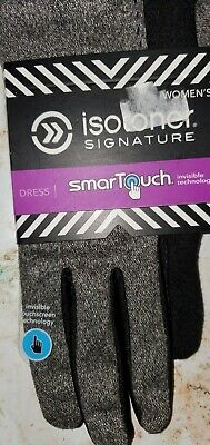 NWT Isotoner Smartthouch gloves, Black-M/L
