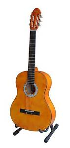 """NEW Woodstock 39"""" Acoustic Guitar with Bag - Orange Tygalgah Tweed Heads Area Preview"""