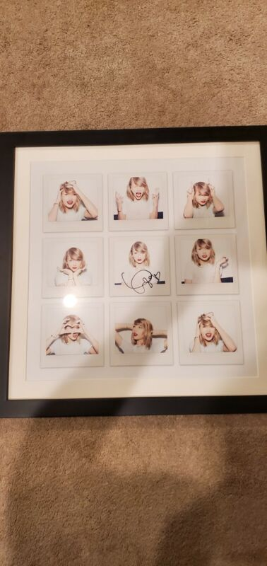 Taylor Swift 1989 Signed Framed Lithograph