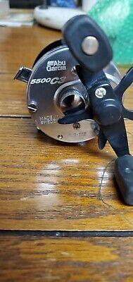 ABU Garcia Ambassadeur 5500 C3 Silver Original Round Fishing Reel Made In Sweden