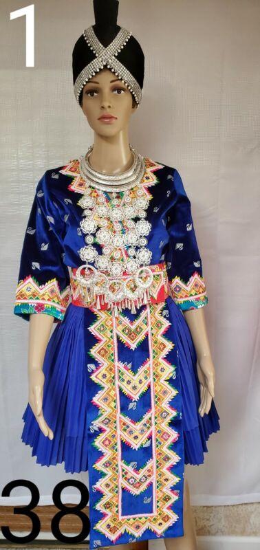 Hmong clothes. Beautiful Pajntaub Co Ci Ci Outfit