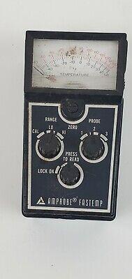 Vintage Amprobe Fastemp Meter Reader Tester
