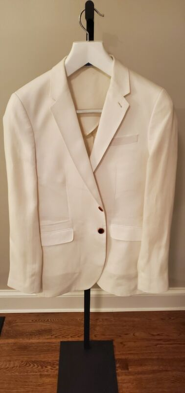 PS by Paul Smith Linen and Wool Sport Coat - Slim Fit 38R
