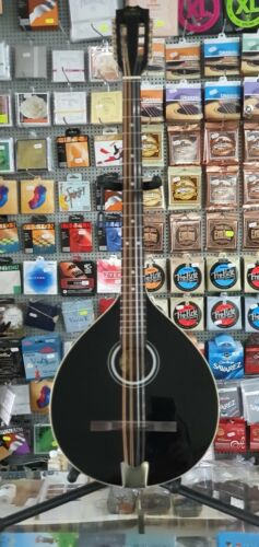 Irish Bouzouki with EQ (built in pick-up), Hora, Romania, solid wood+soft case