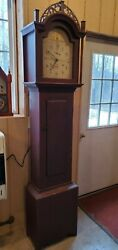 Antique Riley Whiting Tall Case / Grandfather Clock c. 1815