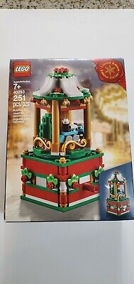 Lego 40293 Holiday Christmas Carousel Limited Edition