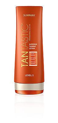 Sunmaxx TanTastic Superior Tanning Lotion Level 2 Solarkosmetik 200 ml,