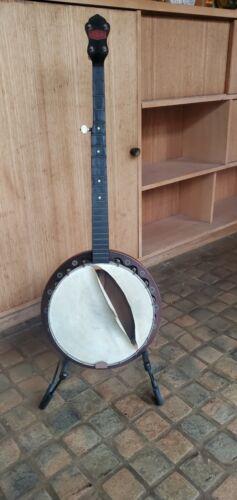 Vtg Beltone 1930s Pre War 5 String American USA Folk Bluegrass Banjo Restoration