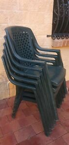 Outdoor Chairs x5