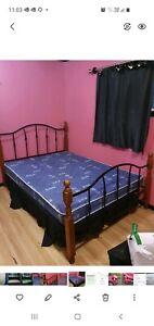 Beds queen/ bunk single/double