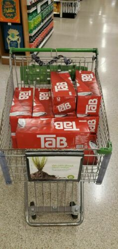 ONE 12 Pack Of Tab Soda Cola Brand New Unopened.. Rare Coca-cola Tab Soda!!
