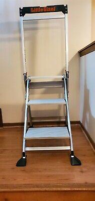 Little Giant Lightweight 3 Step Jumbo Ladder System 11903
