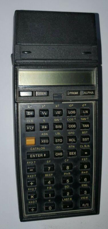 hp 41 calculator w 2 memory modules and card reader