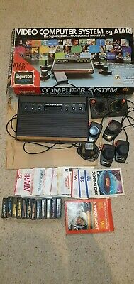 atari 2600 Woody console working & boxed including 12 games and more!