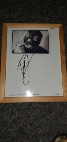 Tony Campos Assesino Signed Picture Static-x Soulfly  - $15.00