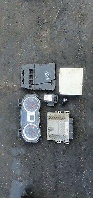 Renault Clio MK3 1.5 DCI ignition barrel key transponder engine ECU KIT