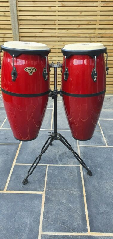 Cosmic Percussion 28 Inch Red Congas