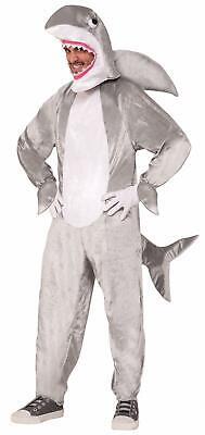 Shark Adult Mascot Fish Halloween Costume (Fish Man Costume)