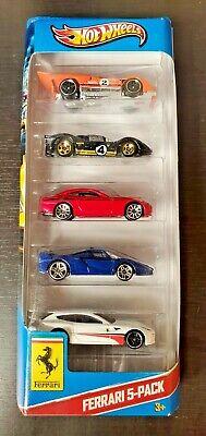 2012 Hot Wheels Ferrari 5-pack 612, FF, 330 P4, FXX, 512M Rare!