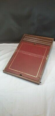 Antique Wooden Writing Slope from REMY MARTIN Cognac