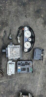 Peugeot 407 GT 2.7 diesel Ignition barrel key transponder engine ecu kit