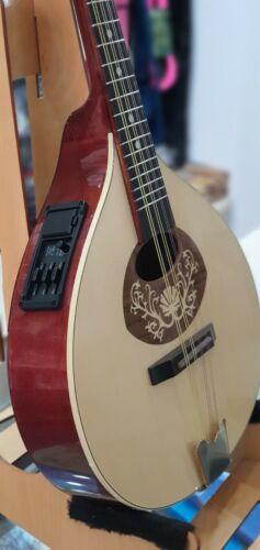 Portuguese mandolin I with EQ, Hora, Romania, solid wood small portuguese guitar