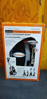 Cepia 2-Gallon Wheeled Motorized Power Sprayer Weed Killer Fertilizing Watering Gallon Power Sprayer