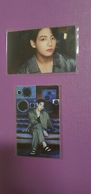 BTS BE Deluxe first LUCKY DRAW Official Photo Card PC Jungkook unopened + opened