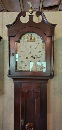 Antique American Tall Case / Grandfather Clock