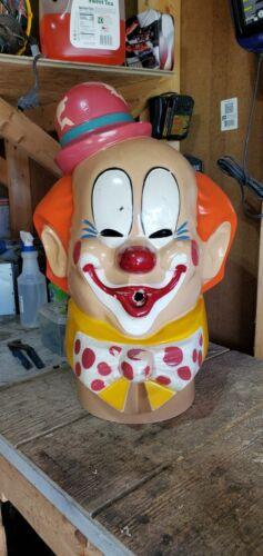 Vintage 1974 AHBS Inc. clown head helium balloon tank cover