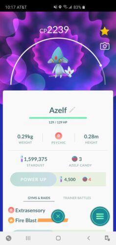 Pokemon Go Azelf (Read Description)