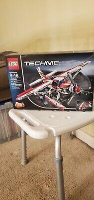 LEGO TECHNIC 2 IN 1 SET FIRE PLANE 2015 RETIRED #42040