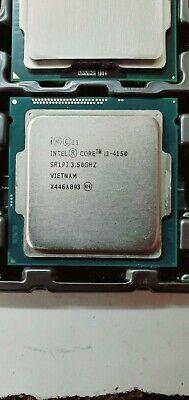 Intel Core i3-4150 3.50Ghz 3MB LGA1150 3MB Dual Core CPU Processor SR1PJ Grade A