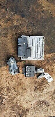 Mercedes C180 Kompressor 1.8 petrol ignition barrel key transponder engine ecu