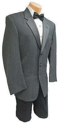 Formale Tuxedo Jacket (Mens Grey Chaps Ralph Lauren Tuxedo Jacket Formal Wedding Prom Cruise 44 Long)