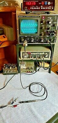 Tektronix P6022 Oscilloscope Current Probe 50 Turns Wterminator Tested See Pics