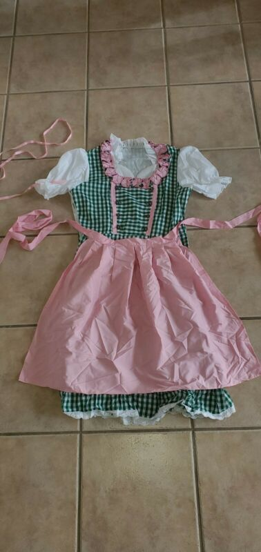 Bavarian Oktoberfest dirndl dress US Size 20 Germany Size 50 2XL