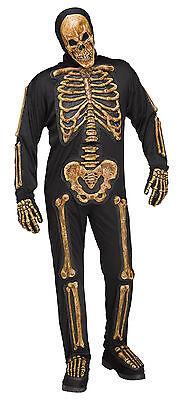 Adult Realistic Skele-bones Skeleton Costume  - Realistic Adult Costumes