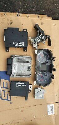 Mitsubishi Outlander MK2 2.0 diesel ignition barrel key transponder engine ecu