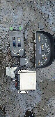 MERCEDES VITO SWB 1999 2.2 CDI ignition barrel key transponder engine ecu kit